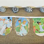 Peter Pan Bunting Children Garland Nursery Decor Wendy Captain Hook Pirates