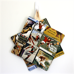 2 x Reversible Pot Holders - Vintage Sports
