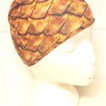 LYCRA SWIM CAP - Golden Dragon Scales