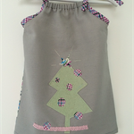 A Christmas Tree Dress