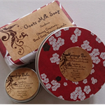 Massage Bar, Lip Balm and Goats Milk Soap Gift Pack