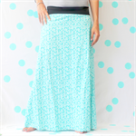 Ladies Geo Maxi Skirt - Size 10-12