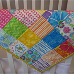 Baby Quilt Stroller/Bassinette/ Play Mat