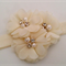 """Isla"" Headband in Ivory"