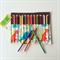 Large Dinosaur Print Pencil Roll - holds 24 pencils, retro, white, vintage, boys
