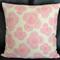 Pink Floating Roses Designer Cushion Cover