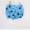 Blue Whales Shorties Nappy Cover - Baby, Boy, Toddler, Newborn, Harem