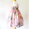 Pastel Floral Hummingbird Dress - Your choice of size 5 to 8