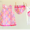 Baby Girl Christmas Outfit - 3 Piece Set - Size 0000