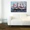 Original painting on canvas - Marina landscape, 50 x 76cm
