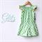 Mint Glitz Addi Romper Sizes 1-3 Gold Spot Playsuit Shorts Dressy Metallic