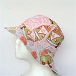 Tie Dye & Alien Reversible Bucket Hat - boys sizes 6 mths - 8 yrs, combie retro