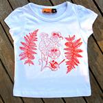Nasturtium girl's cotton t-shirt