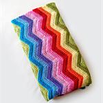 Rainbow Crochet Baby Blanket - Made to Order