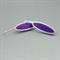 Purple Elegance Sterling silver Earrings
