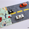 Car Wallet caddy - transport rescue traffic race