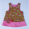Miss Rooster Pinafore Dress w/ Flower -