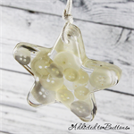 Christmas Button Star + Tree - WHITE - Button Resin Christmas Decorations
