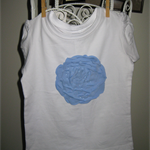 CABBAGE ROSE T-SHIRT SIZE 3