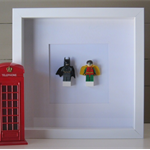 Batman & Robin Lego Frame - Great Gift