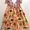 Size 3 'Happy Forest' Hummingbird dress