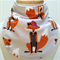 Bandana Dribble Bib - Dapper Foxes