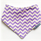 Dribble Bib/Bandana Bib - Purple Chevron