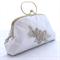 Bridal Clutch Series: White Diamond
