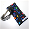 Padded Sunglasses Pouch in Pacman Fabric