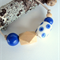 Handmade Porcelain and Wooden Beaded Necklace/ Great Gift
