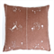 White Cats on Chocolate Linen Cushion Cover