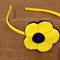 Spring flower headband