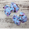 "3"" Frozen Bow Hair Clip Set"