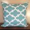 Blue & White Moroccan Cushion Cover - Retro Cushions 50 x 50