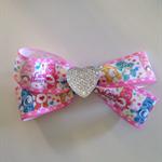 Care Bears Hair Bow Clip with Heart Christmas Birthday presents