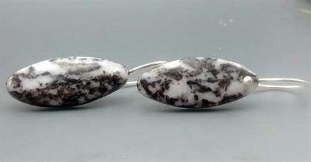 Spotted Jasper Earrings