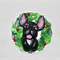 Brindle French Bulldog Christmas Ornament