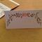 6X MISTLETOE PLACE CARDS