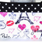 Makeup Purse - Pouch - Bag - Paris - Free Shipping/Postage