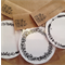 6X ROUND WREATH TAGS, GREAT FOR CHRISTMAS