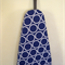 Ironing Board Cover - Navy Blue and white modern decor