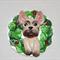 Christmas French Bulldog Ornament