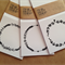 6X WREATH PLACE CARDS