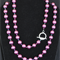 Pearl and Crystal Necklace.