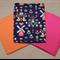 Handmade flat cot sheets – triple pack.