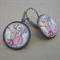 Christmas earrings - vintage style