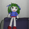 42cm hand crochet doll