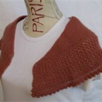 Soft, Knitted Shawlette