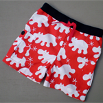 Hippo Shorts with Rib Waistband