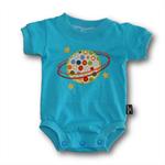 SIZE 000 Handmade Baby Bodysuit... Planet
